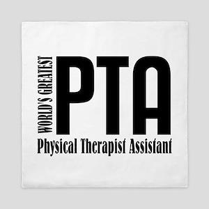 Physical Therapist Assistant Queen Duvet