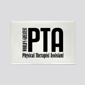 Physical Therapist Assistant Rectangle Magnet