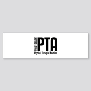 Physical Therapist Assistant Sticker (Bumper)