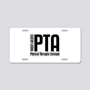 Physical Therapist Assistan Aluminum License Plate