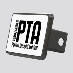 Physical Therapist Assista Rectangular Hitch Cover