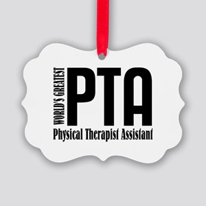 Physical Therapist Assistant Picture Ornament