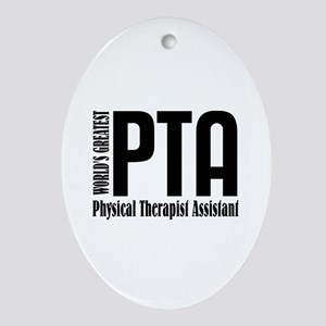 Physical Therapist Assistant Ornament (Oval)