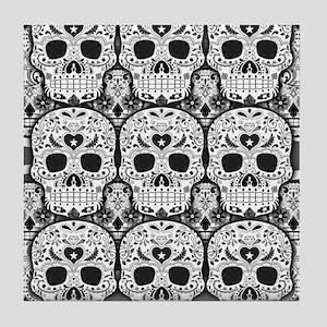 Sugar Skulls Tile Coaster