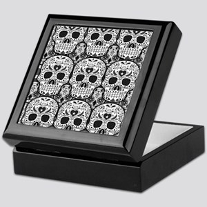 Sugar Skulls Keepsake Box