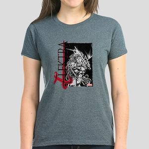 Elektra Black & White Women's Dark T-Shirt