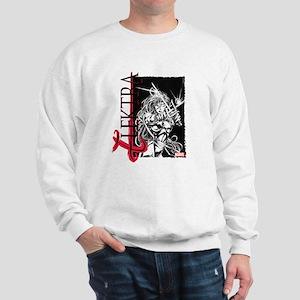 Elektra Black & White Sweatshirt