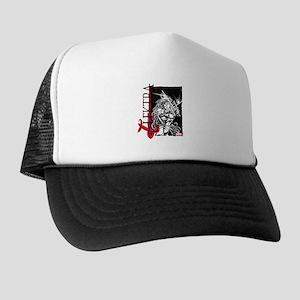 Elektra Black & White Trucker Hat