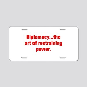 Diplomacy the art of restraining power Aluminum Li