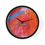 Crazy Vibrance Abstract Wall Clock