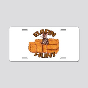 Barn Hunt Aluminum License Plate