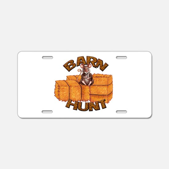 Barn Hunt Aluminum License Plate