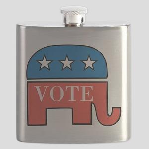 Vote Republican Flask