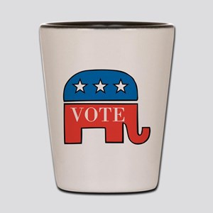 Vote Republican Shot Glass