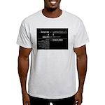 Ash Grey Equation T-shirt