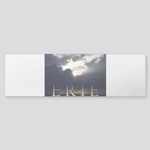 Erie Rain Clouds Bumper Sticker
