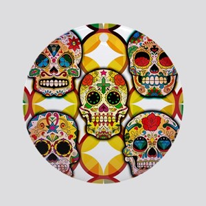 Sugar Skulls Ornament (Round)
