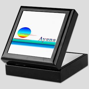 Ayana Keepsake Box