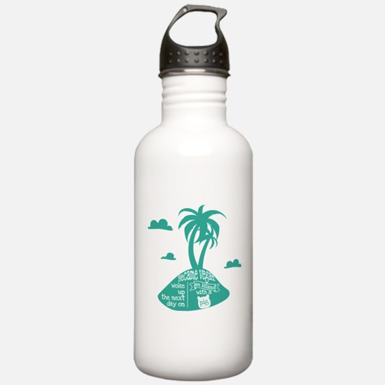 Pig island Water Bottle