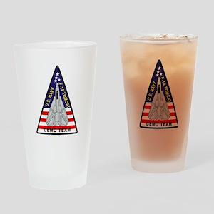 vf101DemoTeam Drinking Glass