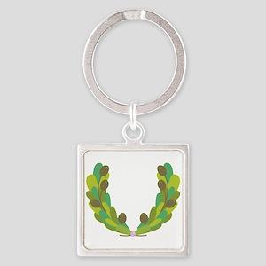 Olive Wreath Keychains