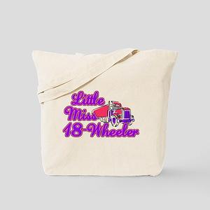 little miss 18 wheeler Tote Bag