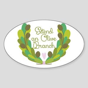 Extend an Olive Branch Sticker