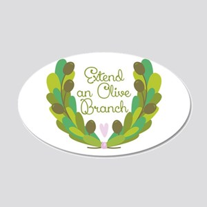 Extend an Olive Branch Wall Decal