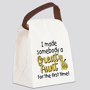 Great Aunt Canvas Lunch Bag