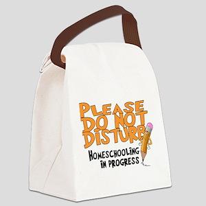 homeschool23 Canvas Lunch Bag