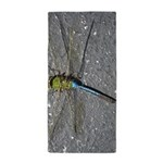 Dragonfly on Pavement Beach Towel