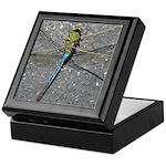 Dragonfly on Pavement Keepsake Box
