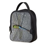 Dragonfly on Pavement Neoprene Lunch Bag