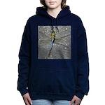 Dragonfly on Pavement Women's Hooded Sweatshirt
