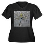 Dragonfly on Pavement Plus Size T-Shirt