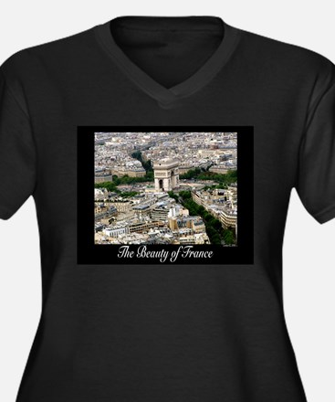 The Beauty of France Plus Size T-Shirt