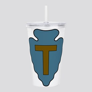36th Infantry Division Acrylic Double-wall Tumbler