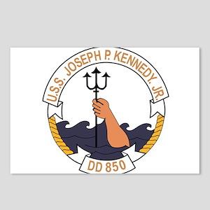 DD-850 USS JOSEPH P KENNE Postcards (Package of 8)