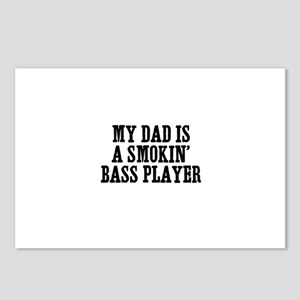 my dad is a smokin' bass play Postcards (Package o