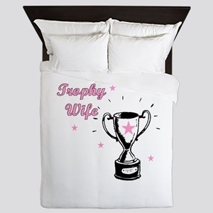 TROPHY WIFE Queen Duvet