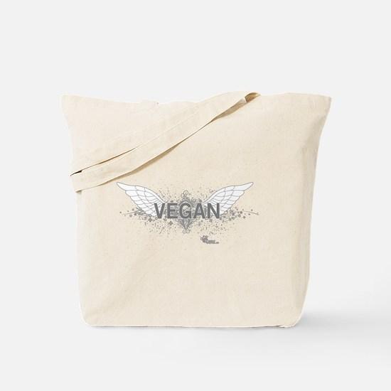 Cute Vegetalien Tote Bag