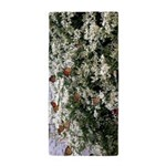 Monarchs on a Babys Breath Rest stop Beach Towel