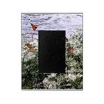 Monarchs on a Babys Breath Rest stop Picture Frame