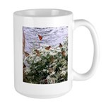 Monarchs on a Babys Breath Rest stop Mugs