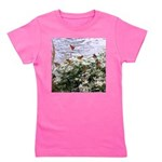Monarchs on a Babys Breath Rest stop Girl's Tee