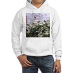 Monarchs on a Babys Breath Rest stop Hoodie