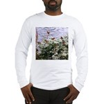 Monarchs on a Babys Breath Rest stop Long Sleeve T