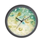 Sand and Surf Abstract Wall Clock