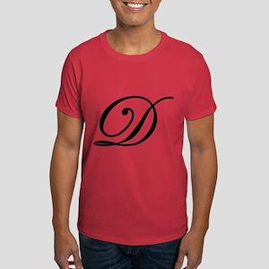 LETTER D MONOGRAM T-Shirt