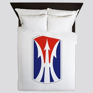 11th Light Infantry Brigade Queen Duvet